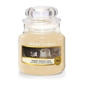 Yankee Candle Sweet Maple Chai Geurkaars Small Jar Candle