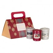 Yankee Candle Alpine Christmas 3 Votives Purse