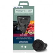 Yankee Candle Black Cherry Car Powered Fragrance Diffuser Starter Kit