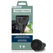 Yankee Candle Clean Cotton Car Powered Fragrance Diffuser Starter Kit