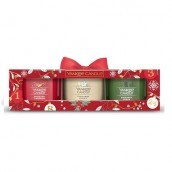 Yankee Candle Countdown To Christmas 3 Filled Votives Gift Set