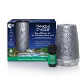 Yankee Candle Sleep Diffuser Silver Starter Kit