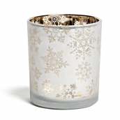 Yankee Candle Snowflake Frost Votive/Tea Light Holder Large