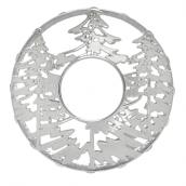 Yankee Candle Snowy Gatherings Illuma lid Tree