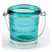 Yankee Candle Bucket Blue Votive Holder