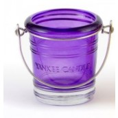 Yankee Candle Bucket Purple Votive Holder