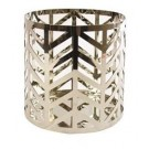 Yankee Candle Arrow Chrome Small Pillar Holder