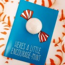 Bomb Cosmetics Encourage-Mint Blastercard