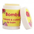 Bomb Cosmetics Rhubarb & Custard Lip Balm
