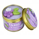 Bomb Cosmetics Thanks A Bunch Tinned Candle