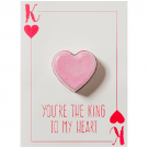Bomb Cosmetics You're the King to My Heart Blastercard