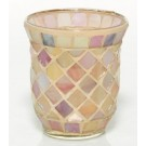 Yankee Candle Blush Mosaic Votive Holder