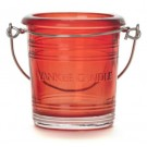 Yankee Candle Bucket Ruby Votive Holder