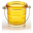 Yankee Candle Bucket Yellow Votive Holder