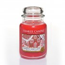 Yankee Candle Candy Cane Lane Geurkaars Large Jar Candle (150 branduren)