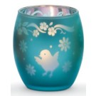 Yankee Candle Chick Tea Light Holder Blue