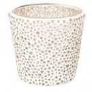 Yankee Candle Clear Glass Bubble Mosaic Votive Holder