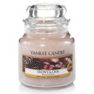 Yankee Candle Ebony And Oak Geurkaars Small Jar Candle