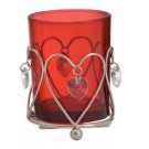 Yankee Candle Heart Pendant Votive Holder - Red
