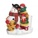 Yankee Candle Jolly Snowmen Votive Holder