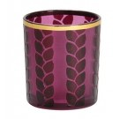 Yankee Candle Maize & Metal Purple Votive Holder
