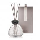 Millefiori Air Design Marble Glass Clear With Black Cap