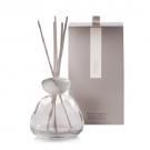 Millefiori Air Design Marble Glass Clear With White Cap