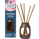 Yankee Candle Cherry Blossom Pre-Fragranced Reed Starter Kit Metallic