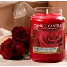 Yankee Candle Raindrops on Roses Large Jar