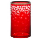 Yankee Candle Red & Gold Snowfall Jar Holder