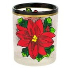 Yankee Candle Red Poinsettia Votive Holder