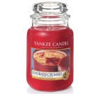 Yankee Candle Rhubarb Crumble Geurkaars Large Jar