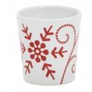 Yankee Candle Snowflake Ceramic Votive Holder