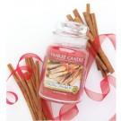 Yankee Candle Sparkling Cinnamon Car Jar Ultimate