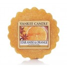 Yankee Candle Star Anise & Orange Wax Tart