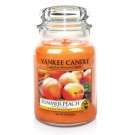 Yankee Candle Summer Peach Geurkaars Large Jar Candle (150 branduren)