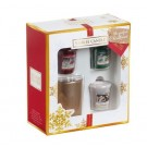 Yankee Candle The Perfect Christmas 3 Votive & 1 Holder Gift Set