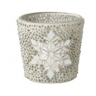 Yankee Candle Twinkling Snowflake Votive Holder