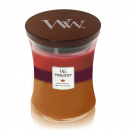 WoodWick Autumn Harvest Medium Jar Candle