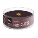 WoodWick Black Plum Cognac Petite Candle