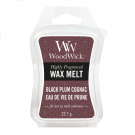 WoodWick Black Plum Cognac Wax Melt