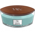 WoodWick Blue Java Bavana Ellipse Hearthwick Jar Candle