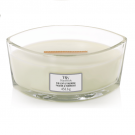 WoodWick Fig Leaf & Tuberose Ellipse Hearthwick Jar Candle
