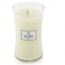 WoodWick Fig Leaf & Tuberose Large Jar Candle