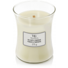 WoodWick Fig Leaf & Tuberose Medium Jar Candle
