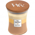 WoodWick Golden Treats Medium Jar Candle