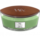 WoodWick Hemp & Ivy Ellipse Hearthwick Jar Candle