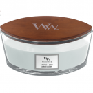 WoodWick Lavender & Cedar Ellipse Hearthwick Jar Candle