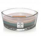 WoodWick Ocean Breeze Trilogy Ellipse Hearthwick Jar Candle