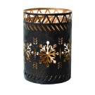 WoodWick Petite Candle Holder Bronze Snowflake